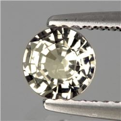 Natural White Zircon 1.25 Ct - FL