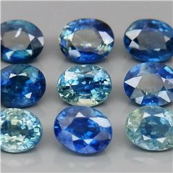Natural Blue Sapphire Oval 5x4 MM  - 4.00 Cts
