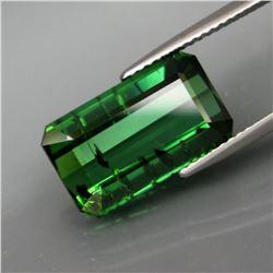 Natural Bluish Green Tourmaline 8.07 Ct