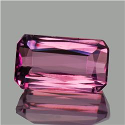 Natural Untreated Pink Tourmaline 3.31 Cts - Flawless