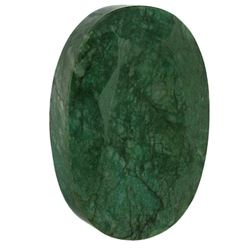 HUGE RARE MUSEUM SIZE 3,500 CT CERTIFIED  EMERALD.
