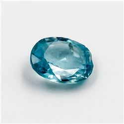 Beautiful Certified 1.40 Ct Natural Blie Zircon