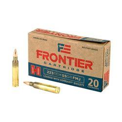 FRONTIER 223REM 55GR FMJ 500 Rds