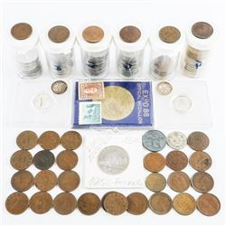 Estate Bag Canadian Coins etc