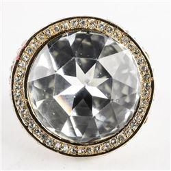 MM Custom Designer - Ring Size 9 Handmade with Swa