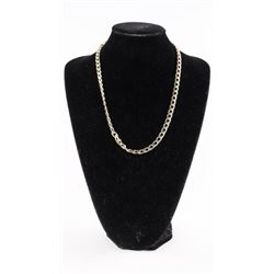 """18kt Gold Plated 22"""" Link Chain with Enhancer"""