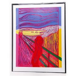 "Andy Warhol Fine Art Print - 'The Scream' 17x22"""