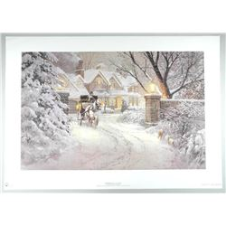 Doug Laird - LE Litho 'Soft Winter Glow' Signed 34