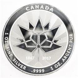 .9999 Fine Silver Canada 150 Medal 1oz ASW. SOLD O