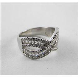 925 Silver Ring Bead Set Swarovski Elements - Figu