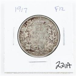 1917 CAD Silver 50 cent (OM)