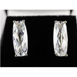 925 Silver Marquise Earrings Swarovski Elements