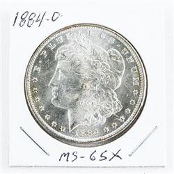 1884(O) USA Silver Morgan Dollar MS-65X (MER)