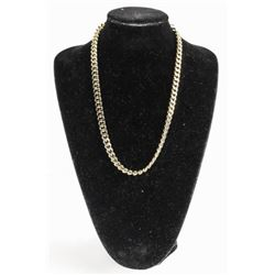 Heavy Link Chain Necklace 18kt Gold Plated - 22""