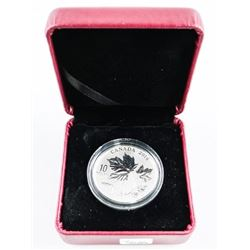 .9999 Fine Silver $10.00 Coin Maple Leaves