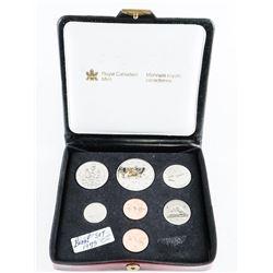 RCM 1975 Specimen Coin Set Double Penny