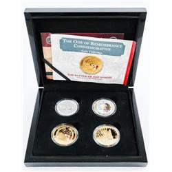 Bradford Exchange 4 Medallion Set with Case
