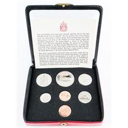 RCM 1973 Specimen Coin Set Double Penny