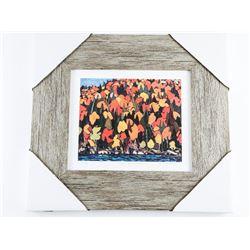 Tom Thomson (1877-1917) Studio/Litho Panel Gallery Frame 15x15