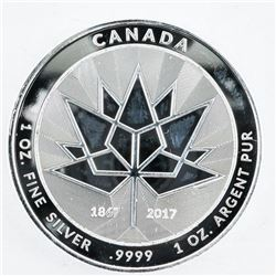 .9999 Fine Silver Canada 150 Medal 1oz ASW. SOLD OUT