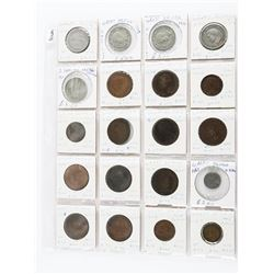 Estate Lot (20) Great Britain Coins (1800s-1900s)