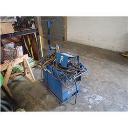 Miller Shopmaster CC/CV AC/DC Welding Power Source with Wire Feeder