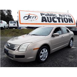 B6 --  2006 FORD FUSION SE , Brown , 229064  KM's