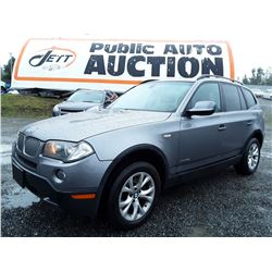 C6B --  2010 BMW X3 XDRIVE28I  , Grey , 152326  KM's