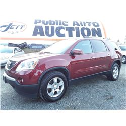 G1 --  2011 GMC ACADIA SLE , Red , 182117  KM's