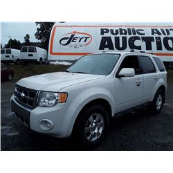 G3 --  2011 FORD ESCAPE LTD  , White , 159615  KM's
