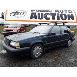 A8 --  1995 VOLVO 850 , Blue , 253011  KM's