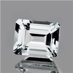 Natural  AAA Luster  White Aquamarine 3.54 Cts - FL