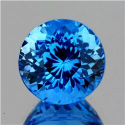 Natural Magnificent Swiss Blue Topaz 34.42 Ct -Flawless