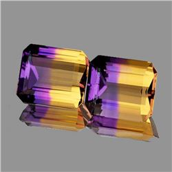 NATURAL TOP ANAHI AMETRINE Pair 14x12 Mm - FL