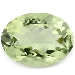 Natural Light Green Amethyst 14x10 MM - FL