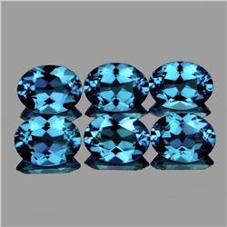 Natural  Santa Maria Blue Aquamarine 6X4 MM - FL-VVS1