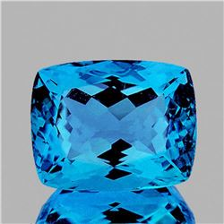 NATURAL SWISS BLUE TOPAZ 37.02 Ct [FLAWLESS]