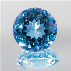 Natural Blue Green Mystic Topaz 15 MM - Flawless