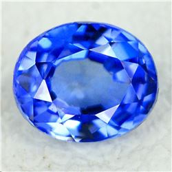 Natural  Royal Blue Benitoite 5x4 MM - Certified