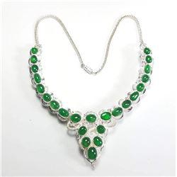 Natural Burma Jade/Jadite Type A Necklace - Untreated