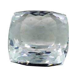7.30 ct.Natural Cushion Cut Aquamarine
