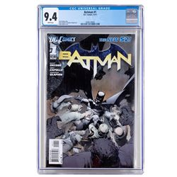 The New Batman First Issue by DC Comics CGC
