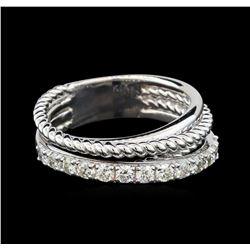 0.65 ctw Diamond Ring - 14KT White Gold