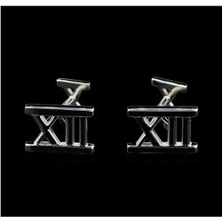 Tiffany & Co. 18KT White Gold Cuff Links