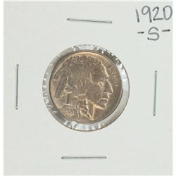 1920-S Buffalo Nickel Coin