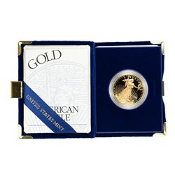 1995 $50 Proof American Gold Eagle Coin w/Box & COA