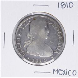 1810 MoHJ Mexico 8 Reales Silver Coin