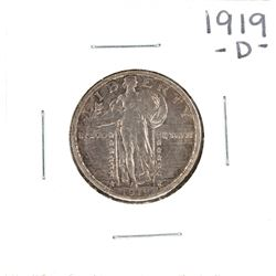 1919-D Standing Liberty Quarter Coin