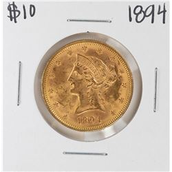 1894 $10 Liberty Head Eagle Gold Coin