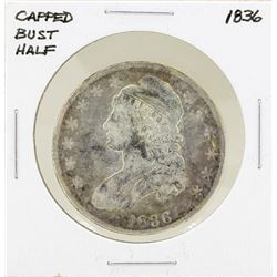 1836 Capped Bust Half Dollar Coin